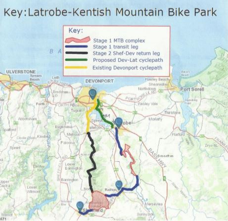 Latrobe-Kentish Mountain Bike Trail Network Proposal