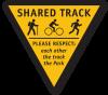 Wellington Park Draft Share Track Sign