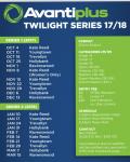 Avantiplus Twilight Series 2017-18