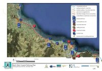 North West Coast Pathway Plan - Burnie to Wynyard (Source: North West Tasmania Coastal Pathway Plan 2010 - Design Toolkit)