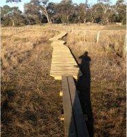 Tangara Trail - New Boardwalk on Clear Lagoon; Source; Land Manger August 2014 Report