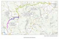 North East Rail Trail Map