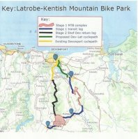 Kentish-Latrobe mountain bike park update - 30 September 2014