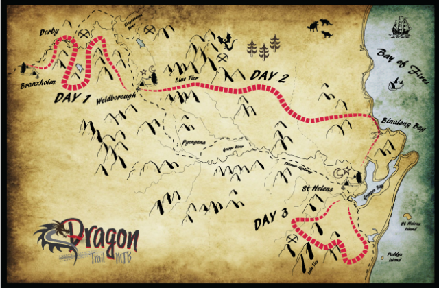 Dragon Trail MTB