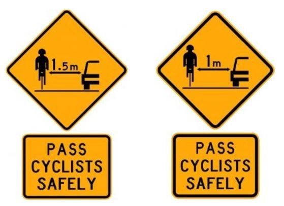 New cycle passing laws - Distance makes the difference