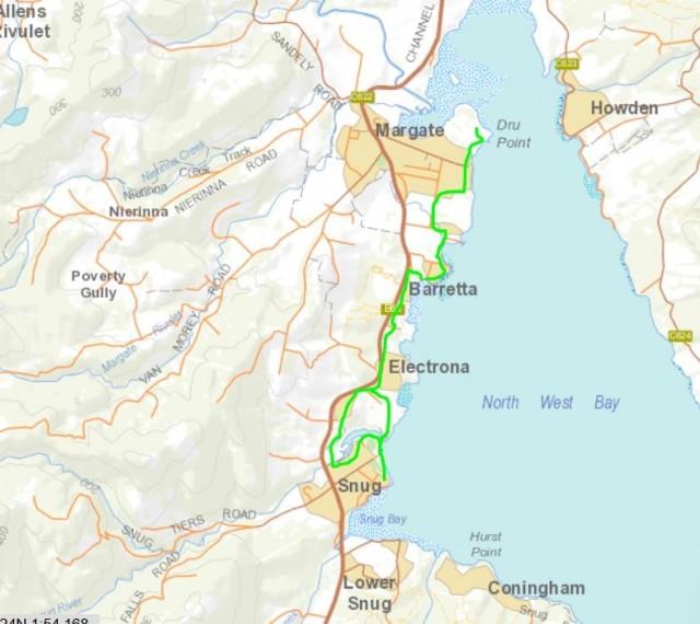 Snug to Margate Cycleway Funding
